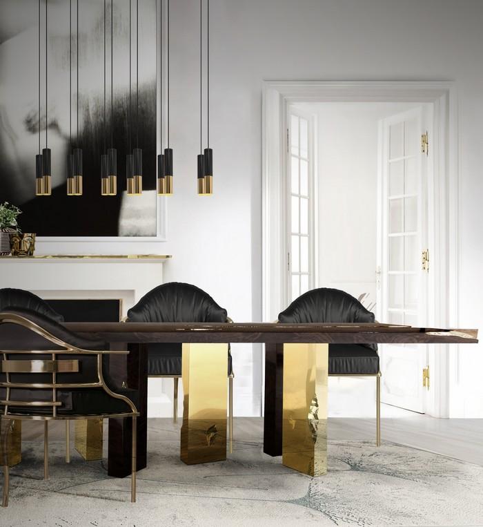25 idee per la vostra sala da pranzo moderna spazi di - Lampadario sala da pranzo moderna ...
