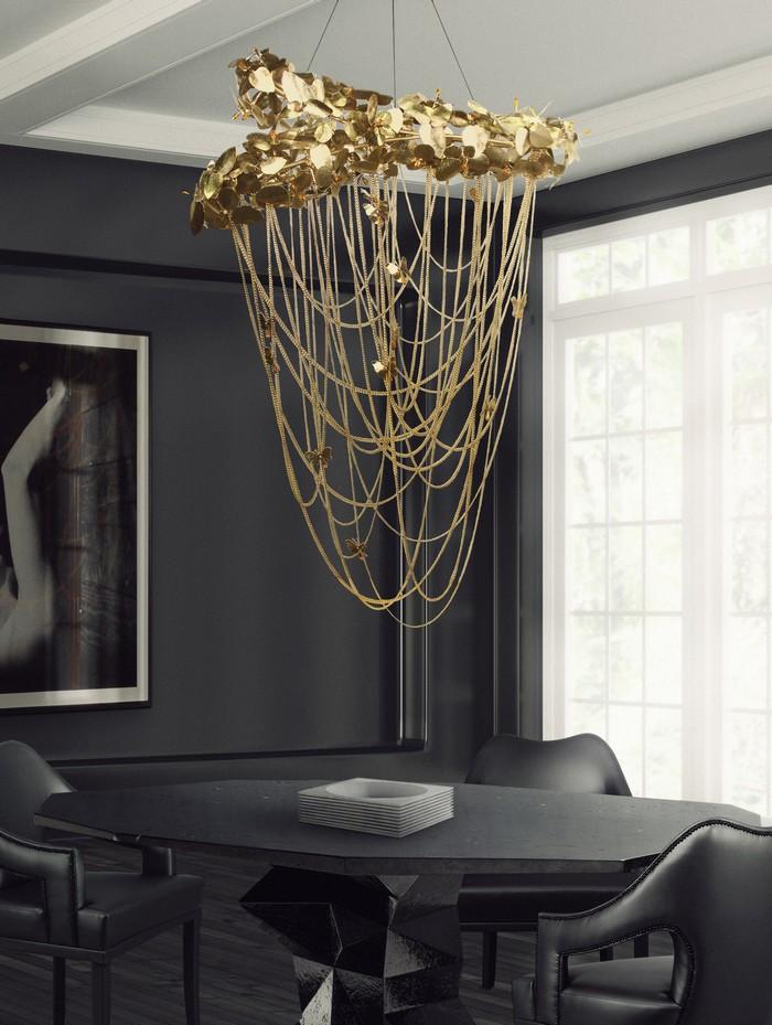 25 idee per la vostra sala da pranzo moderna page 27 spazi di lusso - Lampadario sala da pranzo moderna ...