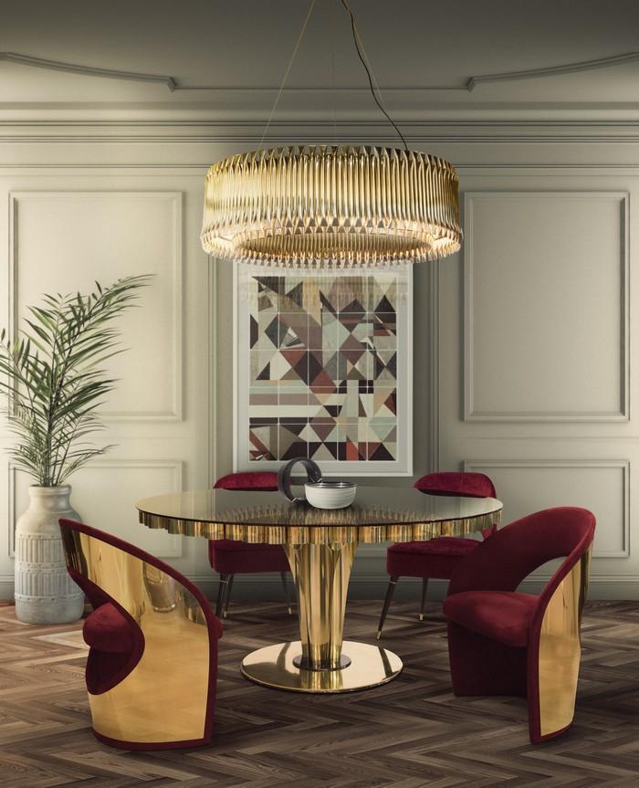25 idee per la vostra sala da pranzo moderna page 28 spazi di lusso - Lampadario sala da pranzo moderna ...