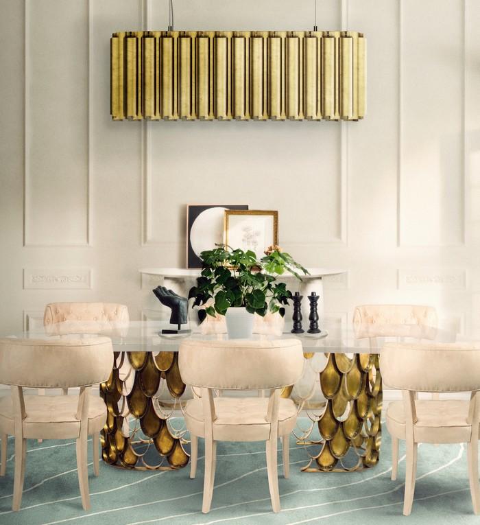 25 idee per la vostra sala da pranzo moderna spazi di lusso page 3 - Lampadario sala da pranzo moderna ...