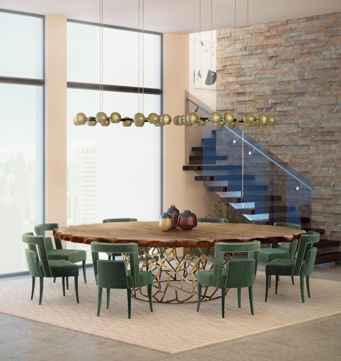 25 idee per la vostra sala da pranzo moderna spazi di lusso page 4 - Lampadario sala da pranzo moderna ...