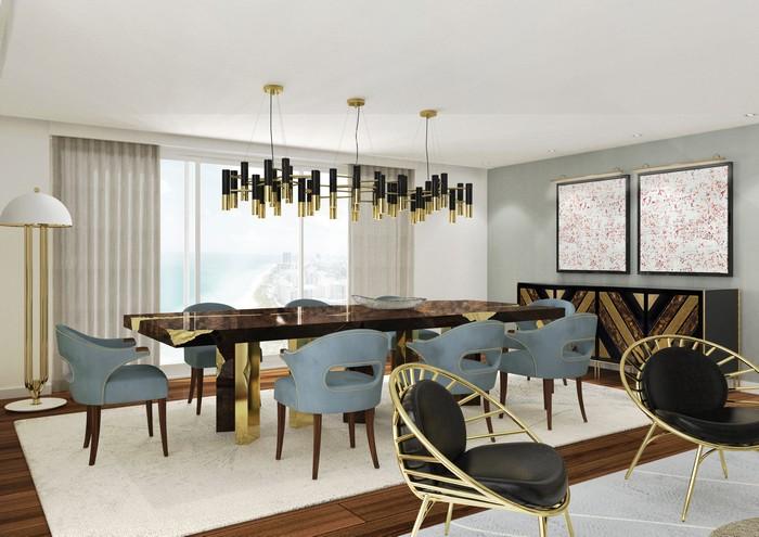 25 idee per la vostra sala da pranzo moderna spazi di lusso page 10 - Lampadario sala da pranzo moderna ...