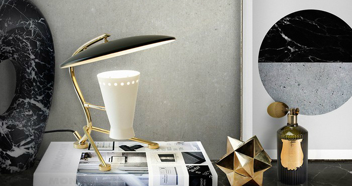 25 lampade da tavolo per la vostra scrivania spazi di lusso for Lampade da tavolo per ufficio