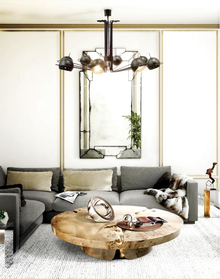 25 idee per un salotto lussuoso spazi di lusso page 4 for Arredamento lussuoso