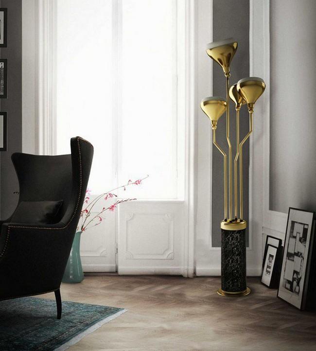 Come illuminare il soggiorno: lampade da terra moderne ...