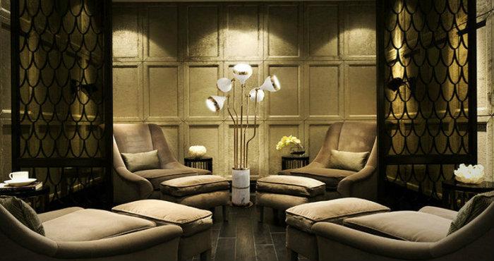 Come illuminare il soggiorno: lampade da terra moderne | Spazi di Lusso