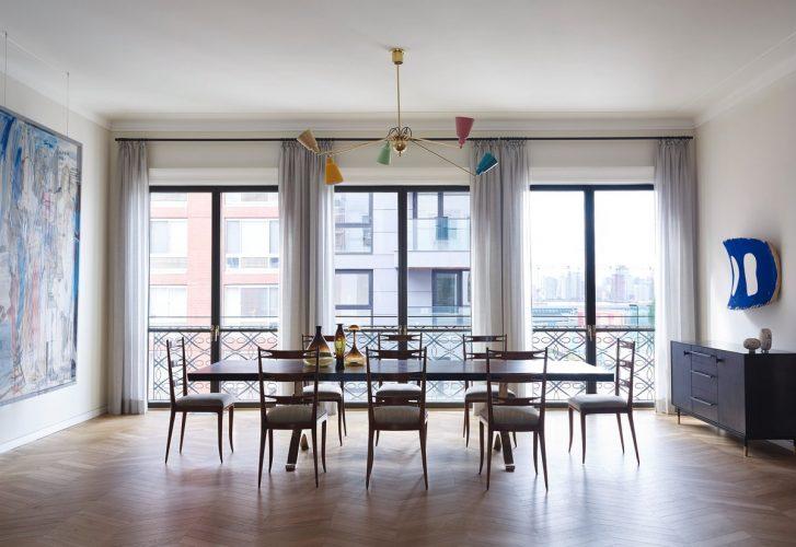 Idee colorate per illuminare la sala da pranzo