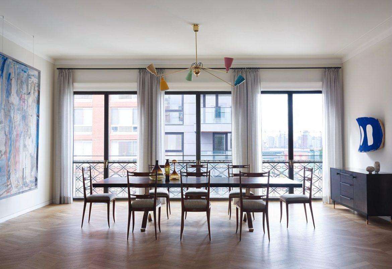Idee colorate per illuminare la sala da pranzo | Spazi di Lusso