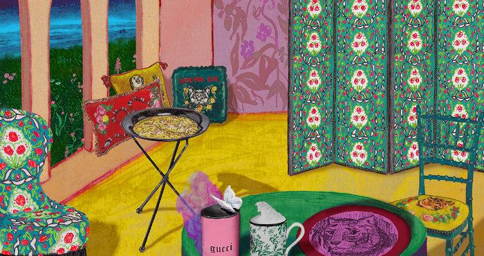 Casa fai da te le proposte di Gucci (5)
