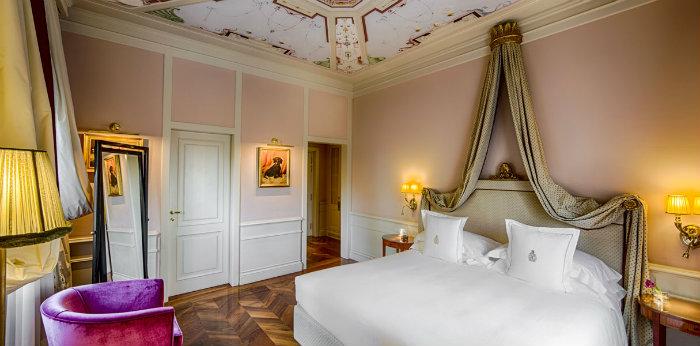 Comfort e design retrò nelle stanze del Villa Cora.1 design Comfort e design retrò nelle stanze del Villa Cora Comfort e design retro   nelle stanze del Villa Cora