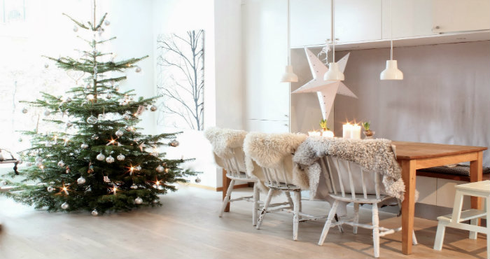 stile scandinavo It's Christmas time: alberi di natale in stile scandinavo Its Christmas time