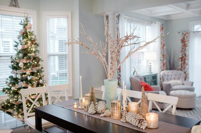 Le migliori sale da pranzo natalizie – Spazi di Lusso