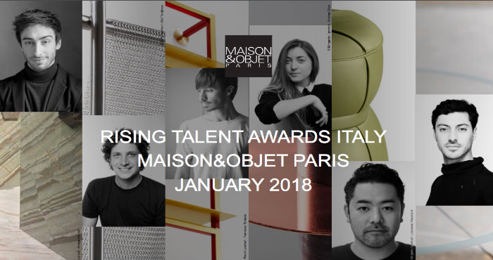 Maison&Objet-spazio a sei giovani designer italiani.6 designer italiani Maison&Objet 2018: spazio a sei giovani designer Italiani MaisonObjet spazio a sei giovani designer italiani