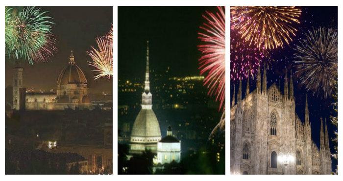 Le migliori città Italiane in cui trascorrere Capodanno 2018