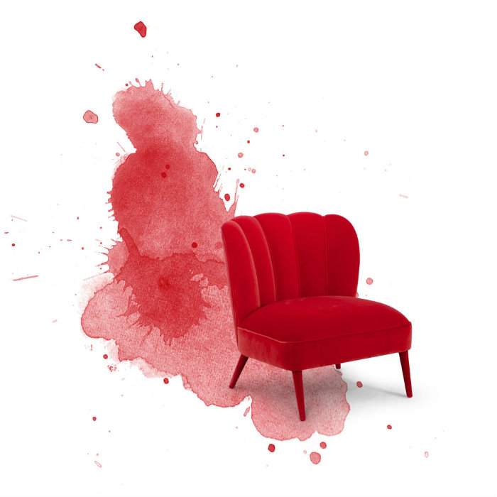 Le migliori sedie rosse per questo natale.2 sedie rosse Le migliori sedie rosse per questo Natale Le migliori sedie rosse per questo natale