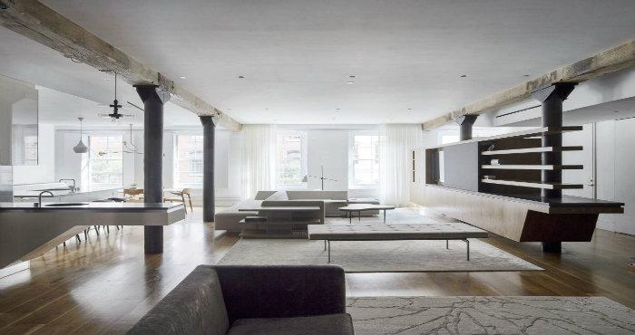 Loft moderno ideale per una famiglia u2013 spazi di lusso