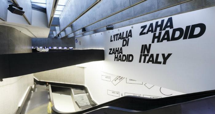 L'Italia di Zaha Hadid in mostra al MAXXI