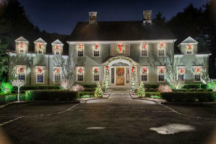 come nei film, giardini natalizi indimenticabili giardini natalizi Idee per la tua casa: giardini natalizi indimenticabili natale case3