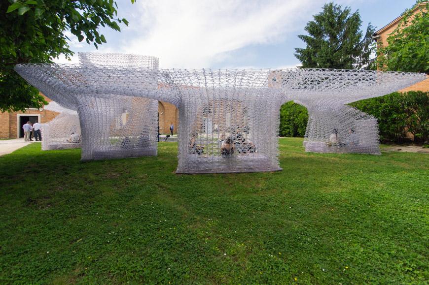 architettura VENEZIA – Biennale dell'Architettura. I 3 padiglioni da non perdere! 3D printed pavilion Archi Union Architects China exhibition 2018 Venice Architecture Biennale 08 Inexhibit