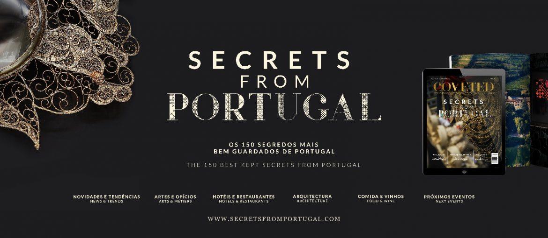 Secrets from Portugal SECRETS FROM PORTUGAL - la guida ai luoghi più esclusivi in Portogallo Banner Secrets