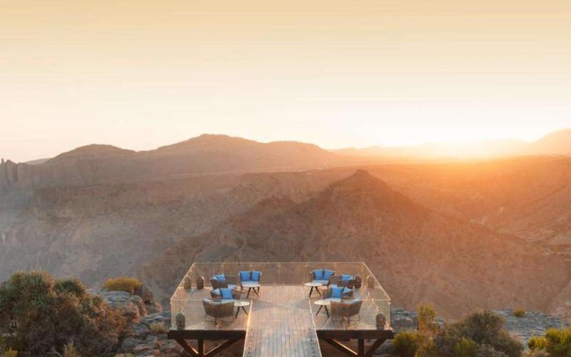 2. Anantara Al Jabal Al Akhdar Resort (Oman)