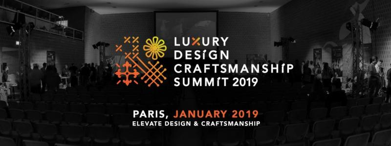 arte e design Le migliori 6 destinazioni di arte e design da non perdere a settembre Luxury Design Craftsmanship Summit 2019 1