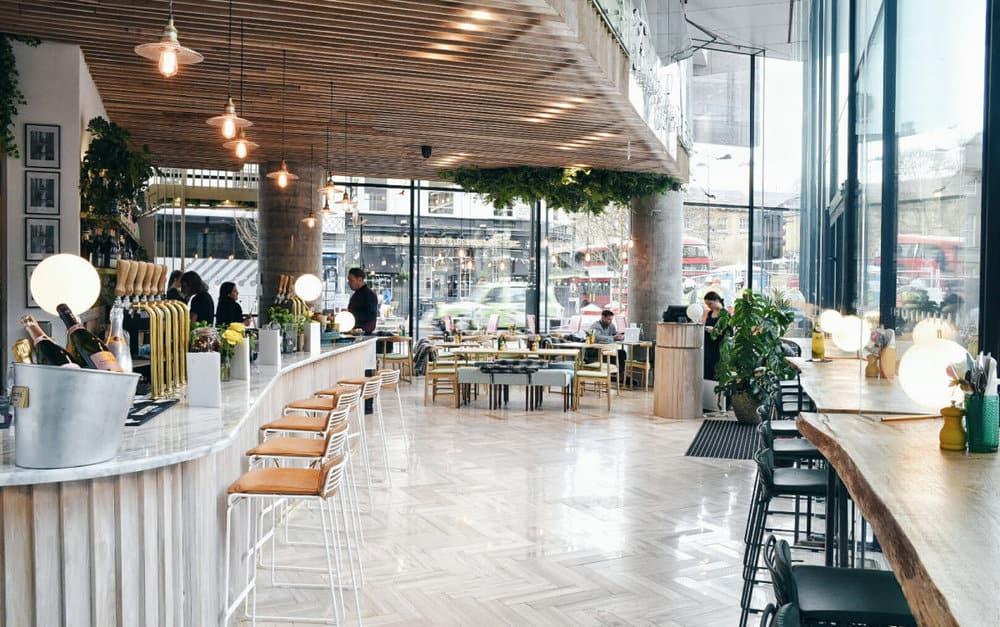 10 esempi di splendidi ristoranti d'interior design a Londra ristoranti d'interior design 10 esempi di splendidi ristoranti d'interior design a Londra ristoranti interior design londra 6