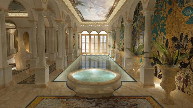 apostoli Studio Apostoli: 3 progetti di Splendide Spa di Lusso 6 Luxury Spa Design Projects Created By Studio Apostoli