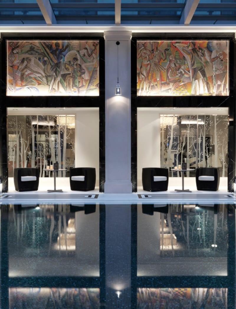 apostoli Studio Apostoli: 3 progetti di Splendide Spa di Lusso MOS 594 original