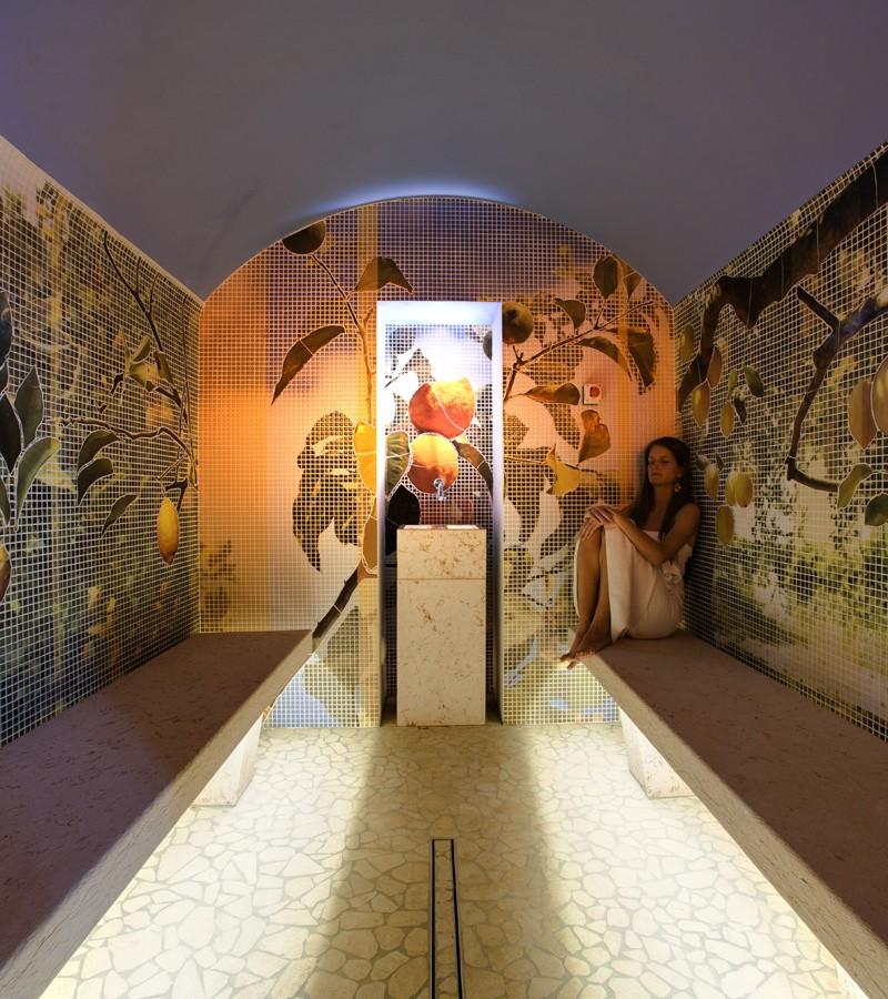 apostoli Studio Apostoli: 3 progetti di Splendide Spa di Lusso dhara2