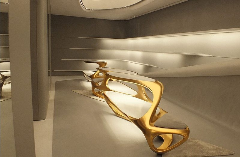 boutique boutique Le Boutique di Lusso in Italia progettate da famosi architetti