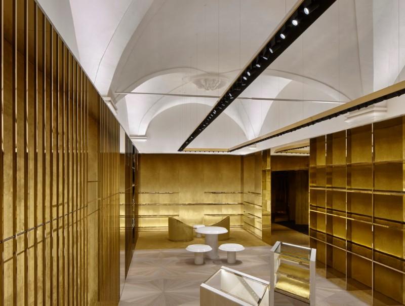 boutique boutique Le Boutique di Lusso in Italia progettate da famosi architetti 2 4 1024x773