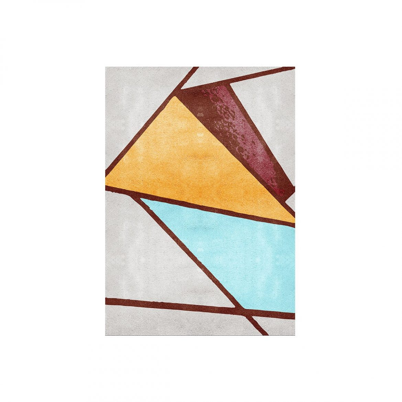 5 Tappeti Moderni di cui ti Innamorerai tappeti 5 Tappeti Moderni di cui ti Innamorerai bauhau geometrical rug rugsociety 01