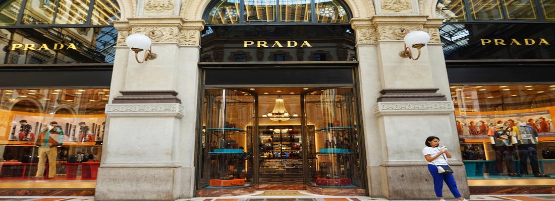 miuccia prada Miuccia Prada: La Signora Della Moda Prada Store Milan