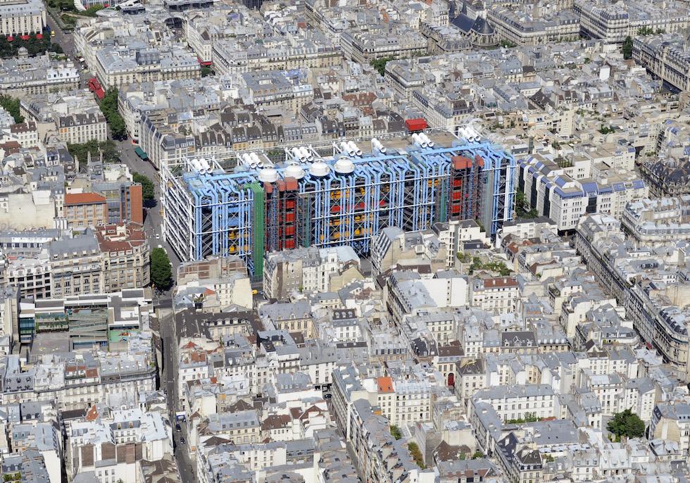 Richard Rodgers, l'architetto Italo-Inglese del Centro Pompidou richard rogers Richard Rogers, l'architetto Italo-Inglese del Centro Pompidou Renzo Piano 14