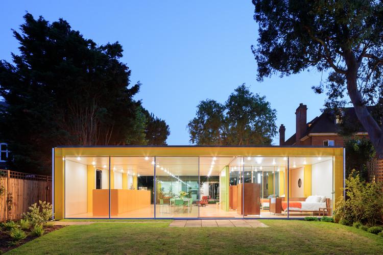 richard rogers Richard Rogers, l'architetto Italo-Inglese del Centro Pompidou Wimbledon House RRA 4298