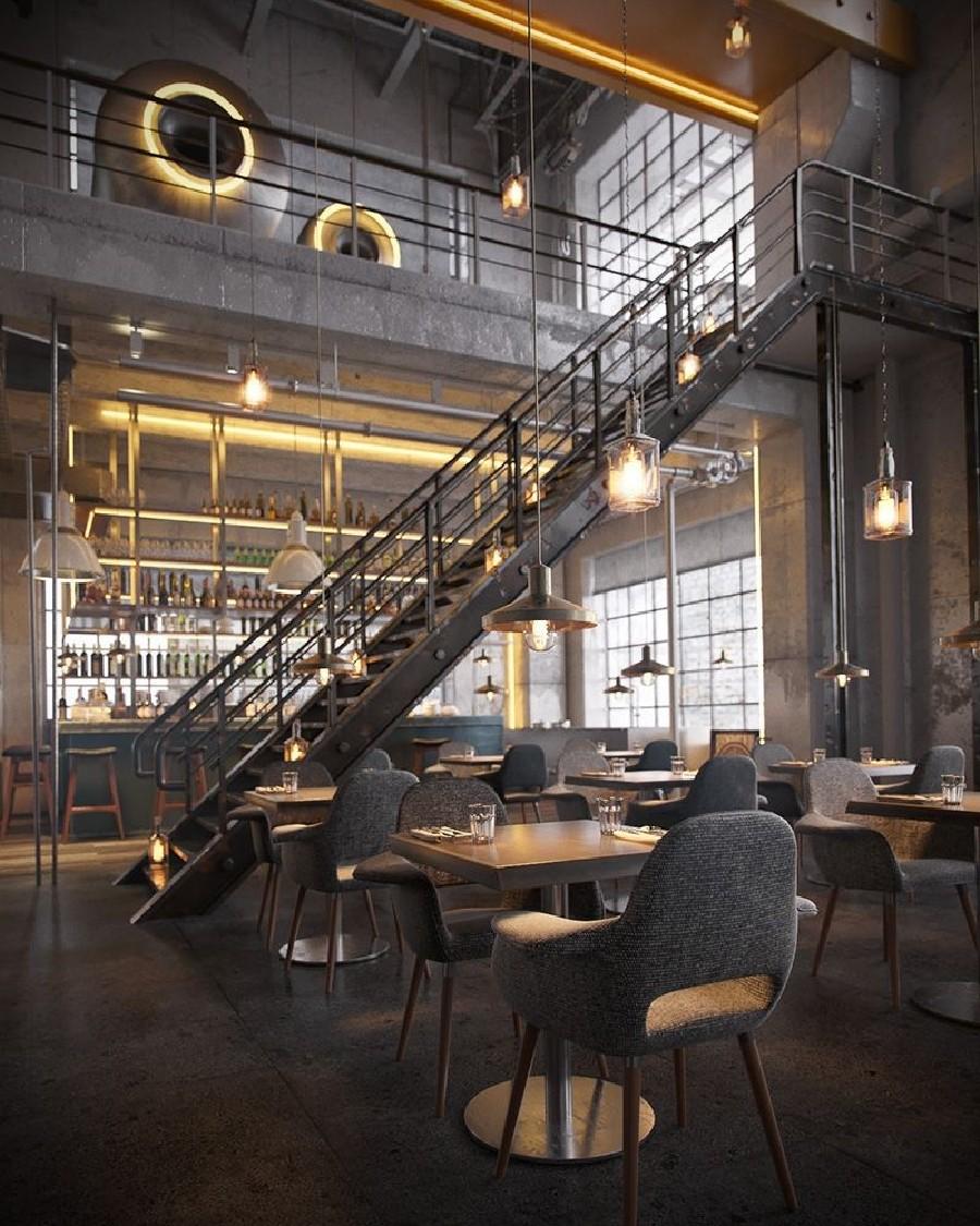 Il design vintage industriale perfetto per bar e ristoranti! 6 design vintage industriale Il design vintage industriale perfetto per bar e ristoranti! Il design vintage industriale perfetto per bar e ristoranti 6