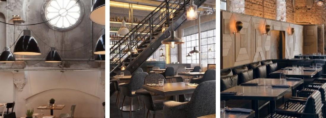 Il design vintage industriale perfetto per bar e ristoranti! COVER design vintage industriale Il design vintage industriale perfetto per bar e ristoranti! Il design vintage industriale perfetto per bar e ristoranti COVER